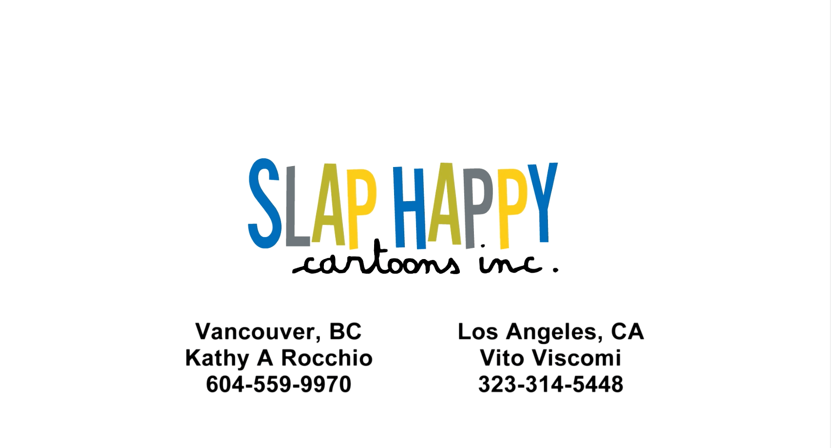 Vancouver S Most Creative Characters Slap Happy Cartoons